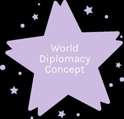 World Diplomacy Concept
